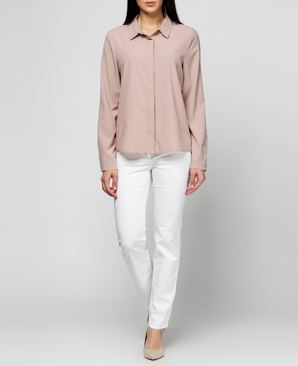 Женские брюки Gerry Weber 40R Белый (2900055521018), фото 1