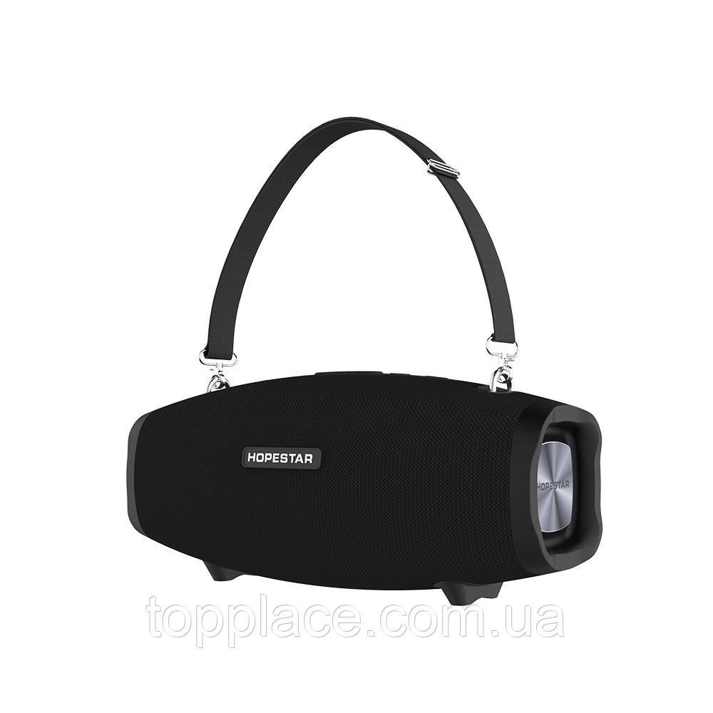 Портативная Bluetooth колонка Hopestar X с микрофоном, Black