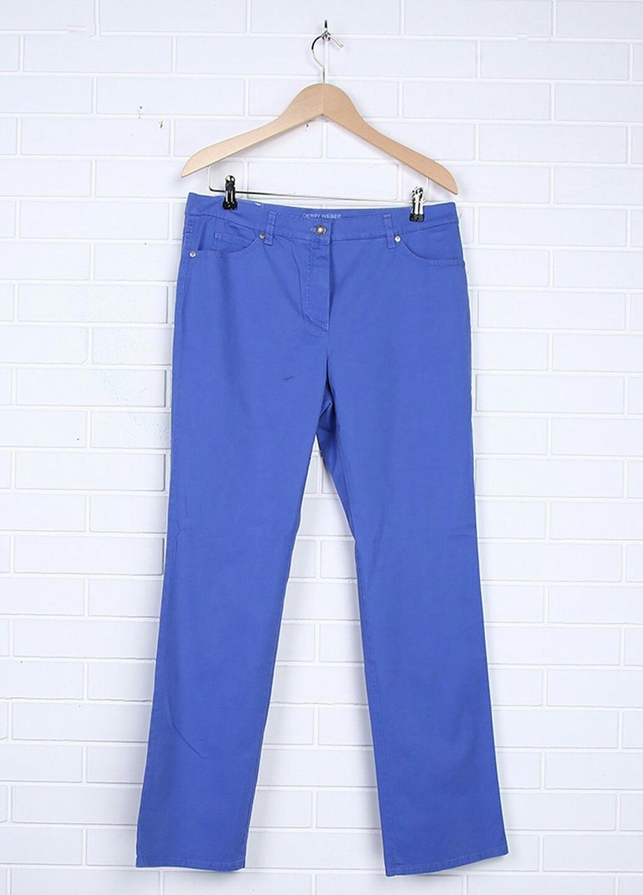 Женские штаны Gerry Weber 42R Синий (2900053945014)