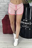 Шорты короткие женские светло-розовые Уценка