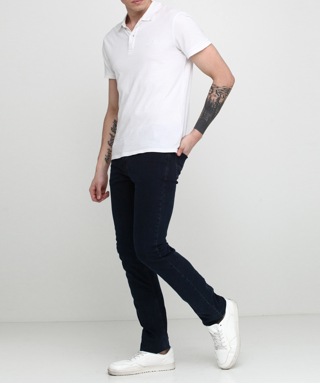 Мужские джинсы Pioneer 30/34 Синий (P-8-013)