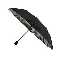 Зонтик полуавтомат Bellissimo Черный (18315-1)