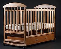 """Кроватка детская с ящиком """"Наталка"""" ольха"""