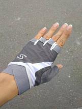 Перчатки для фитнеса OLOEY 1145 женские серый, фото 3