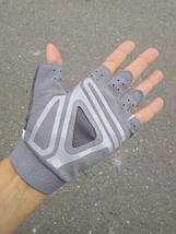 Перчатки для фитнеса OLOEY 1145 женские серый, фото 2