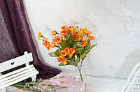 Букет цвета сакуры оранжевого цвета
