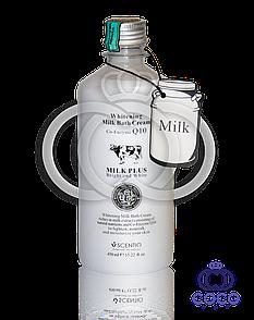 Корейский крем-гель для душа Milk Plus Co-Enzyme Q 10