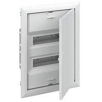 ABB UK624E3. Щит на 24+4 модулей внутренней установки с металлической дверью