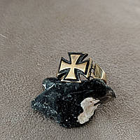 """Бронзовое кольцо """"Железный крест"""""""