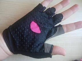 Перчатки для фитнеса OLOEY 1146 женские розовый, фото 3