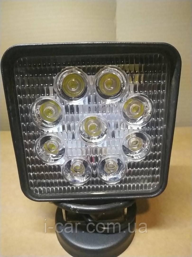 Светодиодная LED фара дальнего света 27W 06-27