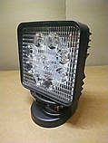 Светодиодная LED фара дальнего света 27W 06-27, фото 3