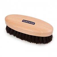 Щетка для обуви Saphir Oval Polisher Brush темный ворс