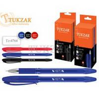 TZ 4764 Ручка шариковая с чернилами на масляной основе 0,5мм, ЧЕРНАЯ TUKZAR