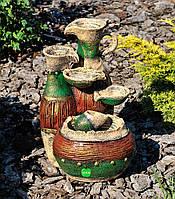 Декоративный фонтан Кувшины