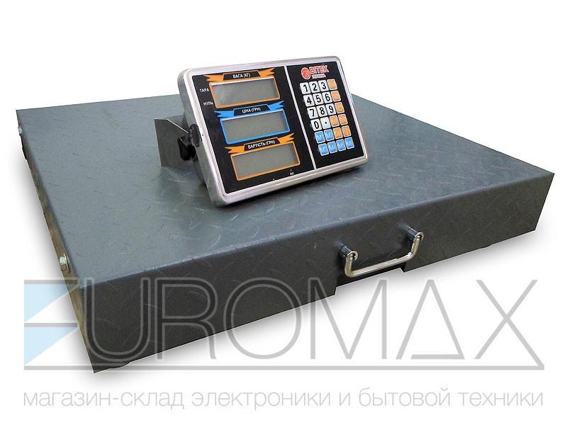Весы электронные торговые BITEK WIFI 500кг 45х55см metal body 1шт YZ-WIFI-500KG-4555
