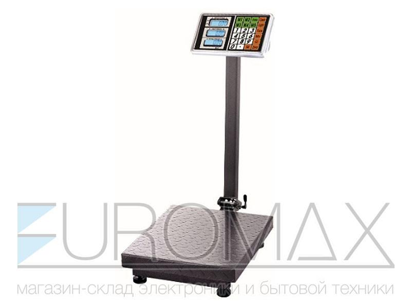 Весы электронные торговые BITEK 600кг 45х60см усиленная платформа single platform 1шт YZ-909-G5A-600