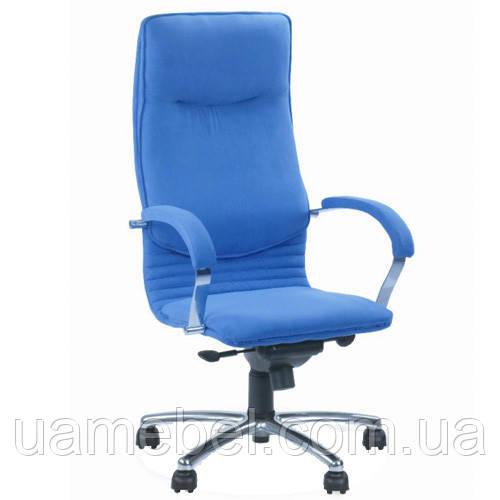 Кресло для руководителя NOVA (НОВА) STEEL CHROME COMFORT