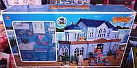 Игровой домик Вилла Happy Family 012 11 аналог Sylvanian Families , флоксовые животные, мебель, фото 1