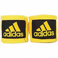 Боксерские бинты Adidas эластичные желтые, фото 1