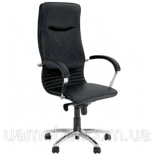 Крісло для керівника NOVA (НОВА) STEEL CHROME