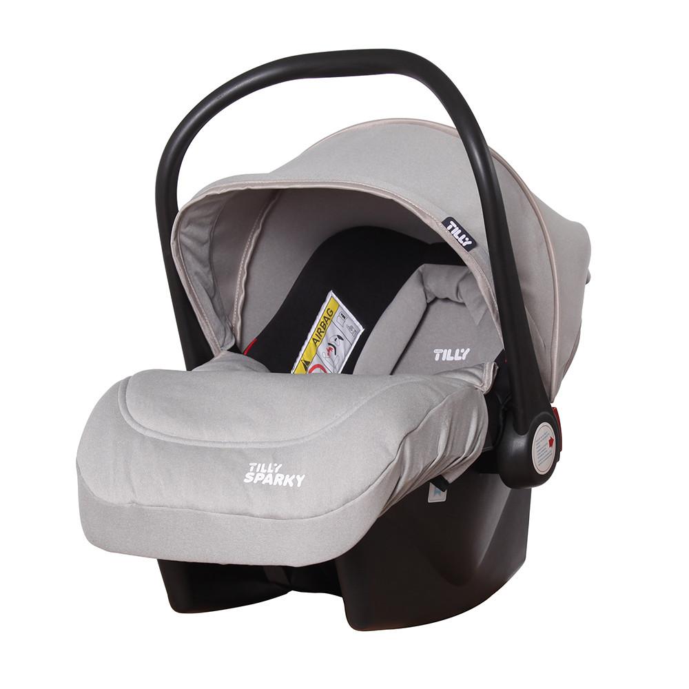 Автокресло детское TILLY Sparky T-511/1 Grey группа 0+ Гарантия качества Быстрая доставка