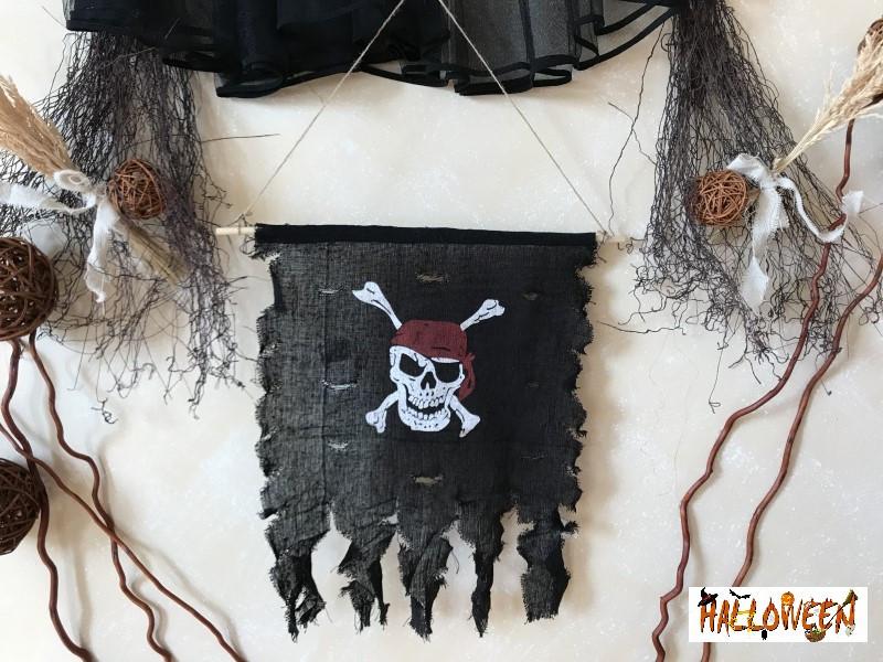 """Декор """"Флаг Пират"""""""