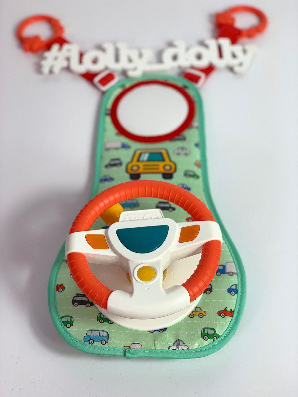 Детский музыкальный Руль для игры в автомобиле HE 0623