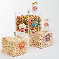 Попкорн-куб (витрина) «Світ Попкорну»
