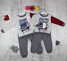 Детские костюмы трикотажные для мальчика Sani №4267