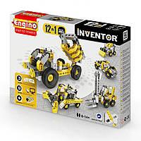"""Конструктор """"Inventor"""" 12в1 Будівельна техніка 1234/ КіддіСвіт"""