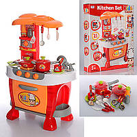 Кухня детская 008-801A. Посуда, свет, звук, фото 1