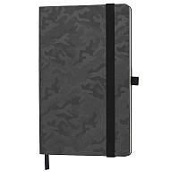Блокнот TABBY JUSTY А5, 130х210 мм, твердая обложка, в линию, 256 страниц,  держатель для ручек, карман для визиток, резинка-фиксатор  Блокнот