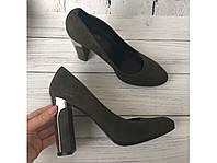 Очень красивые женские замшевые туфли Minelli Италия 41р