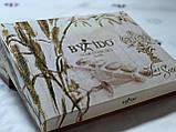 Комплект постільної білизни ТМ By Ido страйп сатин розмір євро фукции, фото 2