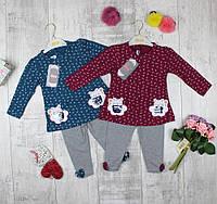 Детские костюмы трикотажные  для девочек, фото 1