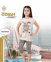 Комплект футболка и капри для девочек