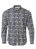Мужская рубашка с ярко выраженым принтом из коллекции Denim Academy от Pierre Cardin