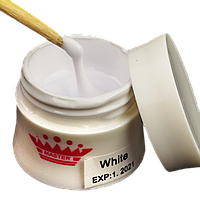 Моделирующий гель для наращивания цвет: White 15 гр