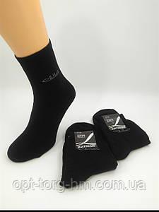 """Мужские Х/Б Махровые черные носки """"Элит"""" 39-40 (обувь)"""