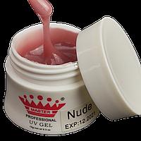 Моделирующий гель для наращивания цвет: Nude 15 гр