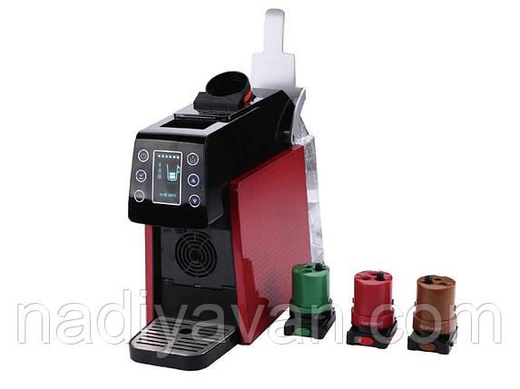 Капсульная кофемашина  4 вида Nespresso, K-cup, Dulce Gusto и Caffitaly, фото 2