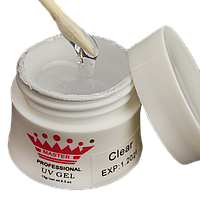 Моделирующий гель для наращивания цвет: Clear 30 гр