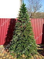 Литая елка Премиум 1.80м. зеленая  (Бесплатная доставка)