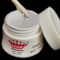 Моделирующий гель для наращивания цвет: Clear 15 гр