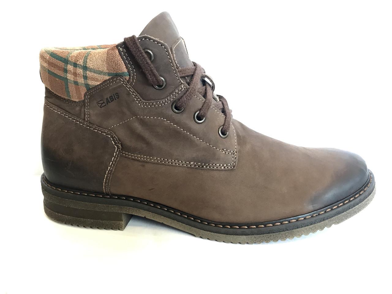 Зимові шкіряні черевики ABIS