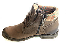 Зимові шкіряні черевики ABIS, фото 3