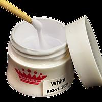 Моделирующий гель для наращивания цвет: White 30 гр