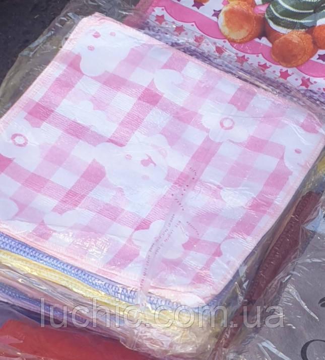 Кухонные салфетки Мишки (и другие) 25×25 20шт в уп.