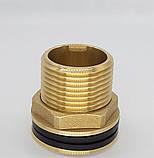 Штуцер врезка в емкость (бак) 3/4 дюйма с прокладками., фото 2